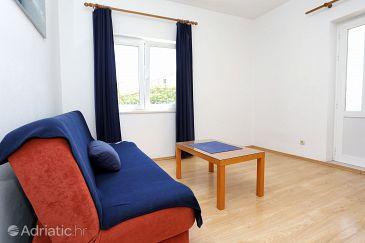 Orebić, Living room u smještaju tipa apartment, dopusteni kucni ljubimci i WIFI.
