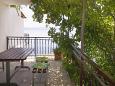 Pisak, Terrace 2 u smještaju tipa apartment, s pogledom na more i WIFI.