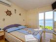 Bedroom 1 - Apartment A-10142-a - Apartments Kučište - Perna (Pelješac) - 10142