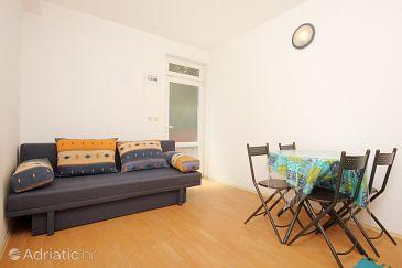 Trpanj, Dining room u smještaju tipa apartment, dostupna klima i WIFI.