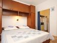 Bedroom - Studio flat AS-10185-b - Apartments Orebić (Pelješac) - 10185