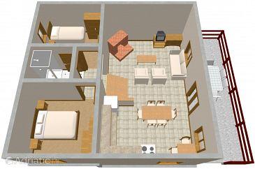 Apartment A-1020-a - Apartments Marušići (Omiš) - 1020
