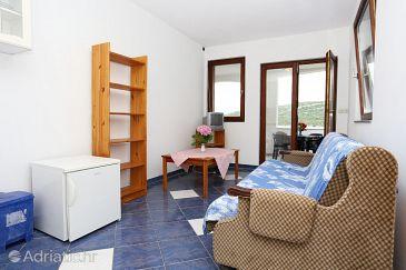 Luka Dubrava, Living room u smještaju tipa apartment, WIFI.