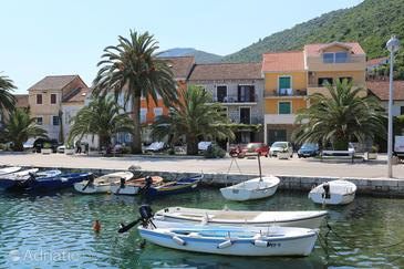 Property Trpanj (Pelješac) - Accommodation 10217 - Rooms near sea with pebble beach.