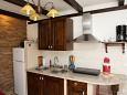 Orebić, Kitchen u smještaju tipa apartment, dopusteni kucni ljubimci i WIFI.