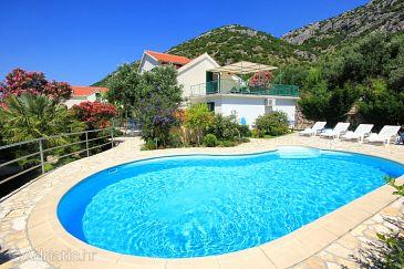 Property Viganj (Pelješac) - Accommodation 10253 - Vacation Rentals near sea with pebble beach.