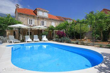 Property Orebić (Pelješac) - Accommodation 10257 - Vacation Rentals near sea with pebble beach.