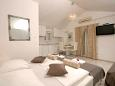 Bedroom - Studio flat AS-10263-a - Apartments Sevid (Trogir) - 10263
