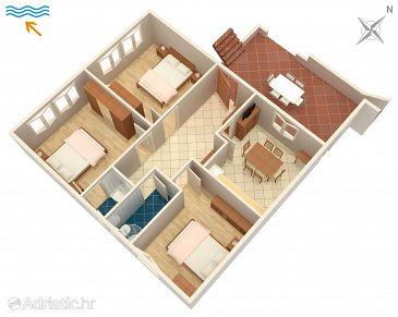 Apartament A-1031-a - Apartamenty Stanići (Omiš) - 1031