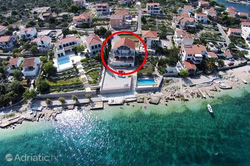 Property Ražanj (Rogoznica) - Accommodation 10318 - Apartments near sea with pebble beach.