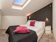 Rogoznica, Bedroom u smještaju tipa apartment, dostupna klima i WIFI.