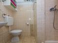 Bathroom - Studio flat AS-10340-a - Apartments Arbanija (Čiovo) - 10340