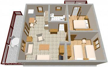 Apartment A-1037-a - Apartments Seget Vranjica (Trogir) - 1037