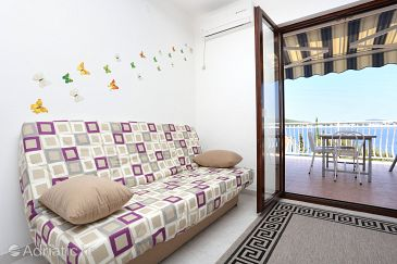 Ražanj, Living room u smještaju tipa apartment, dostupna klima i WIFI.