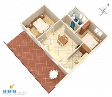 Apartment A-1038-a - Apartments Seget Vranjica (Trogir) - 1038