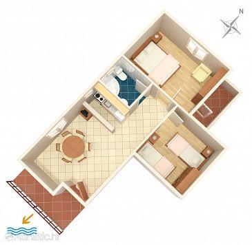 Apartment A-1038-b - Apartments Seget Vranjica (Trogir) - 1038