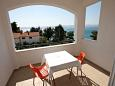Terrace - Studio flat AS-1046-d - Apartments Medići (Omiš) - 1046