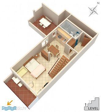 Studio flat AS-1049-c - Apartments Stanići (Omiš) - 1049