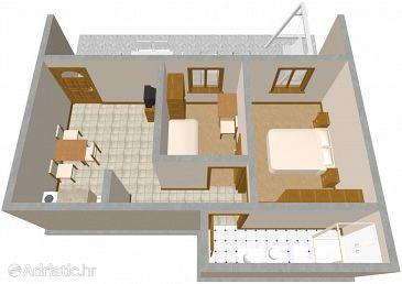 Apartment A-1051-a - Apartments Seget Vranjica (Trogir) - 1051
