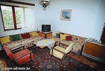 Živogošće - Mala Duba, Living room u smještaju tipa apartment, WIFI.