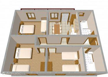 Apartment A-1079-a - Apartments Okrug Gornji (Čiovo) - 1079