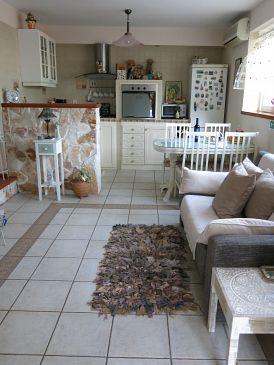Rastići, Living room u smještaju tipa apartment, dopusteni kucni ljubimci i WIFI.