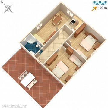 Apartment A-1088-a - Apartments Marina (Trogir) - 1088