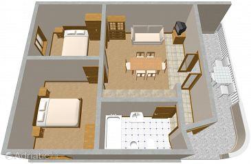 Apartment A-1089-b - Apartments Rogoznica (Rogoznica) - 1089