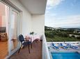 Balcony 1 - House K-11002 - Vacation Rentals Makarska (Makarska) - 11002