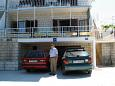 Parking lot Kanica (Rogoznica) - Accommodation 1101 - Apartments near sea with pebble beach.