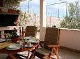 Terrace - House K-11016 - Vacation Rentals Bol (Brač) - 11016