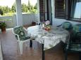 Kali, Balcony u smještaju tipa apartment, s pogledom na more i WIFI.