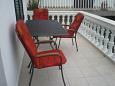 Balcony - Apartment A-11023-a - Apartments Tribunj (Vodice) - 11023