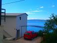 Mimice, Omiš, Parking lot 11045 - Apartments with pebble beach.