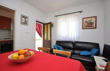 Omiš, Living room u smještaju tipa apartment, dostupna klima i WIFI.