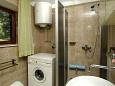 Bathroom - Studio flat AS-11069-a - Apartments Prižba (Korčula) - 11069