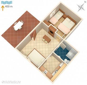 Apartment A-1107-a - Apartments Okrug Gornji (Čiovo) - 1107