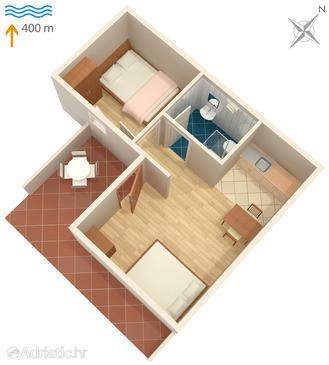 Apartment A-1107-b - Apartments Okrug Gornji (Čiovo) - 1107
