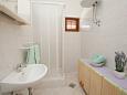 Bibinje, Bathroom u smještaju tipa studio-apartment, WIFI.