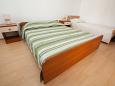 Bibinje, Bedroom u smještaju tipa studio-apartment, dostupna klima i WIFI.