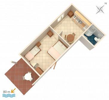 Apartament A-1108-f - Apartamenty Mavarštica (Čiovo) - 1108