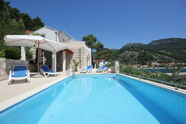 Property Trstenik (Pelješac) - Accommodation 11081 - Apartments near sea with pebble beach.
