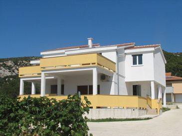 Property Banjol (Rab) - Accommodation 11082 - Apartments with sandy beach.