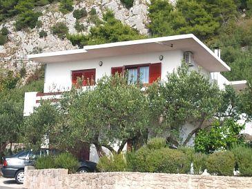 Property Pisak (Omiš) - Accommodation 11098 - Apartments with pebble beach.