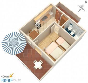Apartment A-111-b - Apartments Sveta Nedilja (Hvar) - 111