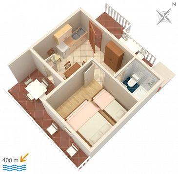 Apartament A-111-d - Apartamenty Sveta Nedilja (Hvar) - 111
