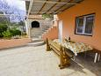 Courtyard Poljica (Trogir) - Accommodation 11103 - Apartments near sea with pebble beach.