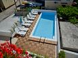 Courtyard Zadar (Zadar) - Accommodation 11151 - Apartments near sea with pebble beach.