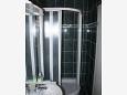 Makarska, Bathroom u smještaju tipa studio-apartment.