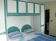 Bedroom - Studio flat AS-11224-b - Apartments Makarska (Makarska) - 11224
